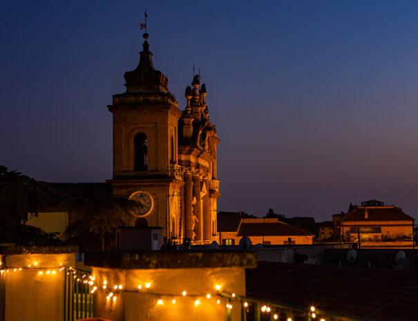 Terrazza Vista notturna